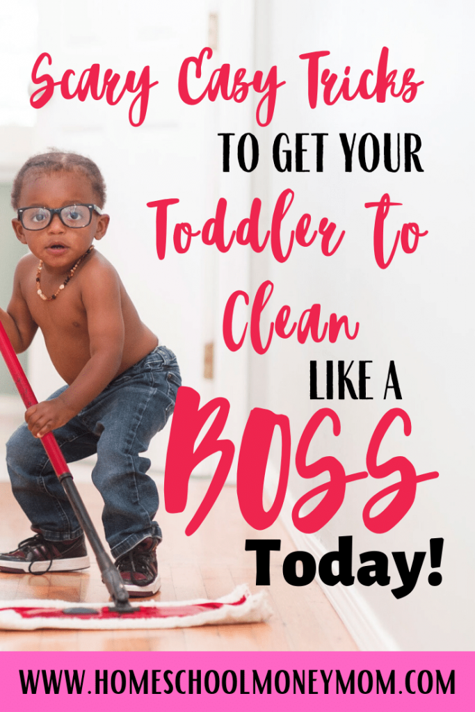 how to get toddlers to clean