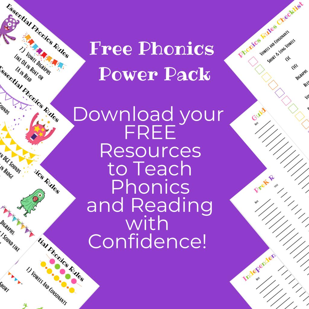 free phonics power pack