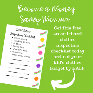 become a money savvy momma