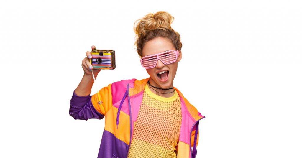 529 plan image with teen in bright yellow and orange shirt and bright pink glasses