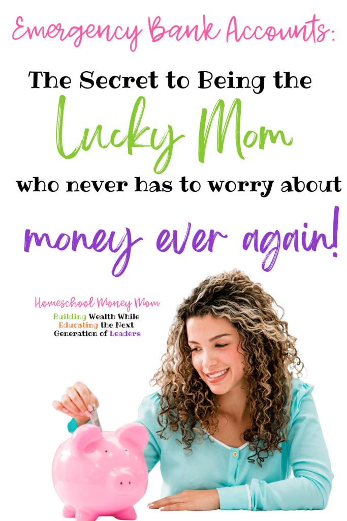 emergeency savings account pinnable image